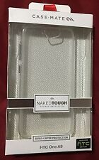 Authentic Case Mate Naked Tough Clear Case for HTC One A9 - Retail $30