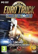 Euro Truck Simulator 2 Gold (PC DVD) NEW & Sealed