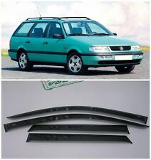 For VW Passat B3/B4 Wagon 1988-1997 Window Visors Sun Rain Guard Vent Deflectors