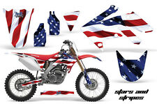 Honda CRF250R Graphic Kit AMR Racing Bike Decal Sticker 250R Part 04-09 SAS