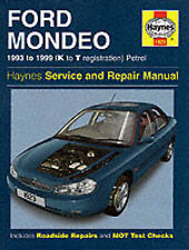 Ford Mondeo Service and Repair Manual (Haynes Service and Repair Manuals),GOOD B