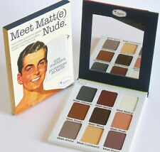 the Balm MEET MATT(e) NUDE Eyeshadow Palette FULL SIZE 25.5g  AUTHENTIC