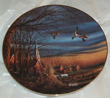 Collector Plate HARVEST BLESSSINGS Terry Redlin SIGNED Heartland Collection 1988