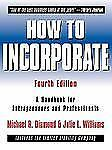 How to Incorporate : A Handbook for Entrepreneurs and Professionals by...