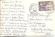 France- Lourdes- La Basilique et le calvaire.  Real Photo Post Card