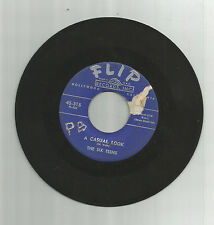 SIX TEENS Casual Look / Teenage Promise, orig Flip 45 vinyl record, 1956,doo-wop