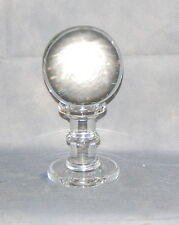 Antique Crystal Ball on Crystal Stand
