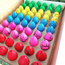 60PCS Growing Dinosaur Eggs Magic Hatching Egg Add Water Children Kids Toy