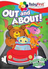 BabyFirst: Out and About - Entertainment on the Go (DVD, 2016, CD/DVD)