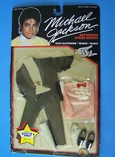 1984 MICHAEL JACKSON SUPERSTAR OF THE 80'S DOLL BILLIE JEAN OUTFIT FASHION Mint