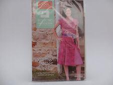 Joel Dewberry Vintage Flutter Dress Sewing Pattern, Eclectic Modern Sz 2-18