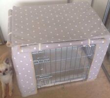 Dog/ Puppy crate cover Made To Order Small Size Cage Chihuahua Pug Shihtzu