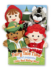 Melissa & Doug Fairy Tale Time Hand Puppets Little Red Riding Hood #9088 NEW