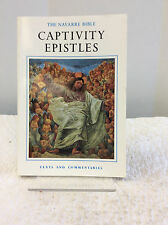 THE NAVARRE BIBLE: St. Paul's Captivity Epistles By James Gavigan, Catholic