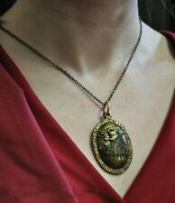 Games of Thrones Cersei Lannister Necklace Pendant Vintage Lion Head US Seller