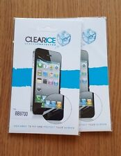 CLEARICE - LCD Screen Protector for Blackberry 9700 X 2. NEW.