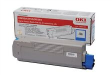 OKI Cyan Toner Cartridge (Yield 6,000 Pages)  for C5850/C5950 Colour Printers