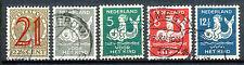 Nederland  224 - 228 gebruikt (2)