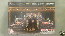 2013 RED BULL RACING BATHURST POSTER V8 Supercars LOWNDES WHINCUP DUMBRELL LUFF