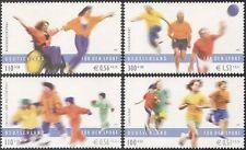 Alemania 2001 Baloncesto/Patinaje/deportes Fondo/juegos/silla de ruedas/desactivado 4v n42761