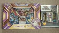 POKEMON TCG Kangaskhan EX Gift Box + Mythical Darkrai Collection Pin Box