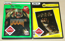 2 PC SPIELE SET DOOM 3 & DEAD SPACE - FSK 18