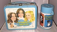 Vintage 1978 Charlie's Angels Lunch Box With Thermos  GC
