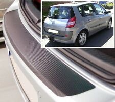 Renault Megane (Grand) Scenic MK2 - Carbon Style rear Bumper Protector
