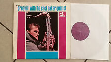 The Chet Baker Quintet ‎- Groovin' With The Chet Baker Quintet - LP 1967 SABA