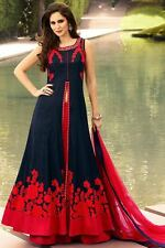 Indian Bollywood Ethnic Designer Anarkali Salwar Kameez Suit &Traditional BRIDN8