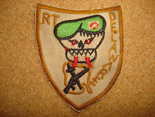 US 5th SFG MACV-SOG Recon Team DELAWARE Machine Embroidered Patch