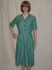 VTG 50s WOMENS GIrL SCOUT leader UNIFORM From CAPROCK TEXAS  information tag S