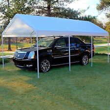 Replacement Canopy White 10 x 20 Carport Cover Frame Not Included  Free Shipping