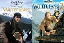 White Fang + White Fang 2 Myth of the White Wolf (Disney) New DVD Region 4