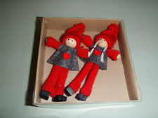 Scandinavian Swedish Gnome Christmas Kindness Elf Gnome Ornaments #809