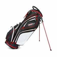 Sahara Golf Gobi 3.2 Stand Carry Bag Black White Red 14 Way Divided Top NEW!