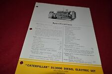 Caterpillar D13000 Diesel Electric Engine Generator Set Dealers Brochure MISC3