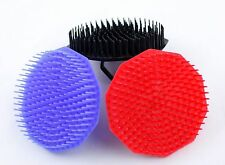 Lot 3 SHAMPOO BRUSHES Scalp Massaging Hair Products Annie Black Red Blue
