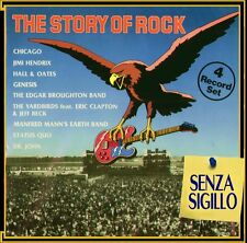 THE STORY OF ROCK  BOX 4 LP NUOVO (GENESIS-HENDRIX-CHICAGO-STATUS QUO-DR.JOHN)