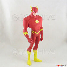 Justice League Unlimited The Flash 10 inch vinyl action figure DC JLU loose