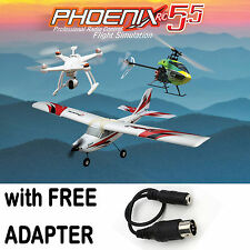 Phoenix R/C RTM5500 Pro Flight Simulator V5.5 Version w/ FREE Multiplex Adapter