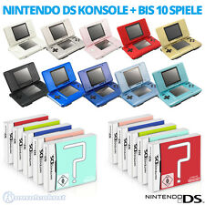 Nintendo DS Hand held Console + Games / also for GameBoy Advance Games