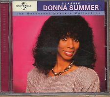 DONNA SUMMER CD made in EU 1999 CLASSIC The Universal Masters Collection