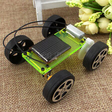 Electric Solar Toy Car Model DIY Educational Gadget Hobby Robotic 8*6.8*3.2cm