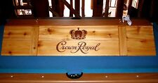 New Crown Royal  Billiards Poker Pool Table Light Lamp Wooden