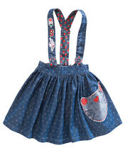BNWT NEXT Girls Size 4-5 Years (110cm) Blue Skirt