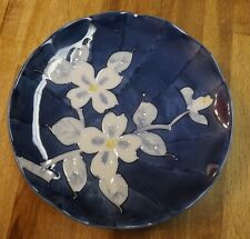 "Beautiful Japanese Plate - Exquisite Blue Pattern Approx. 9""- Very Special Piece"