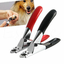 Pet Dog Cat Nail Toe Claw Clippers Scissors Trimmer Shear Cutter Grooming Tool R