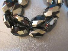 Hematite Faceted Octagon Beads 20pcs