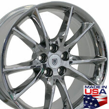 "20"" Wheels For Cadillac CTS XTS Buick Lacrosse Regal Pontiac G8 Chrome Rims Set"
